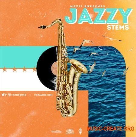 MSXII Sound The Jazzy Stems vol. 1 (WAV) - сэмплы Jazz