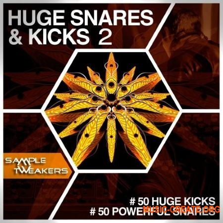 Sample Tweakers Huge Snares And Kicks Vol 2 (WAV) - сэмплы бас-барабанов, снейров