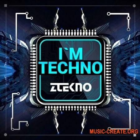 ZTEKNO I'm TECHNO (WAV AiFF APPLE LOOPS MiDi SYLENTH1 / SPiRE / MASSiVE presets) - сэмплы Techno