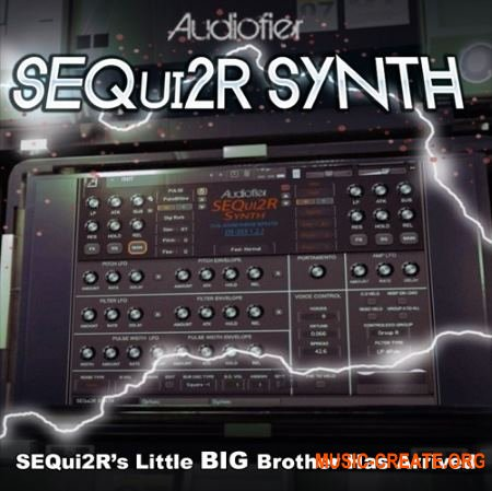 Audiofier SEQui2R Synth (KONTAKT) - библиотека звуков синтезатора