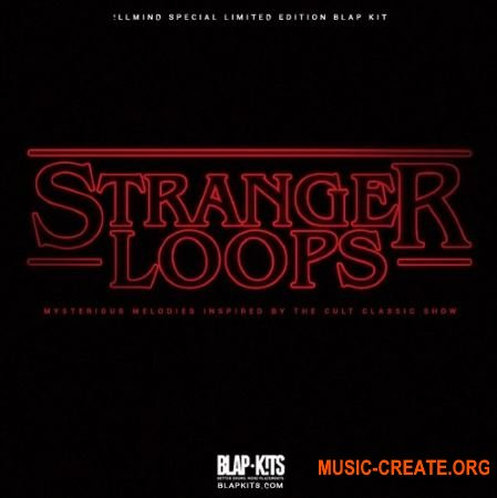 !llmind Blap Kits Special Limited Edition Stranger Loops (WAV) - сэмплы синтезаторов 80-х