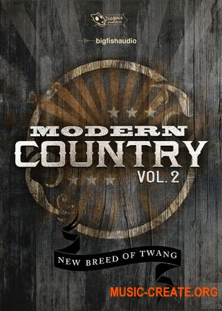 Big Fish Audio Modern Country Vol.2 (MULTiFORMAT) - сэмплы Modern Country