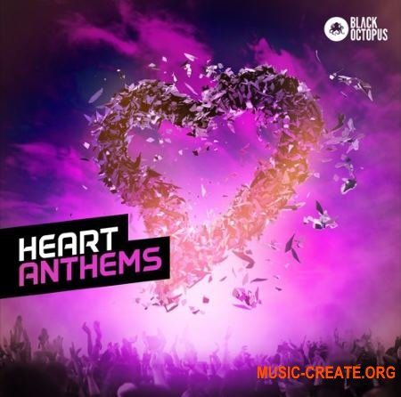 Black Octopus Sound - Heart Anthems (WAV MIDI MASSiVE presets) - сэмплы Dance, EDM