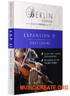 Orchestral Tools Berlin Strings EXP D First Chairs (KONTAKT) - библиотека струнных