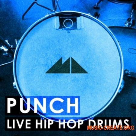 ModeAudio Punch Live Hip Hop Drums (WAV) - сэмплы Hip Hop