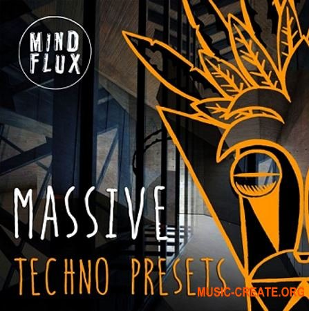 Mind Flux Massive Techno (WAV MiDi MASSiVE) - сэмплы Techno
