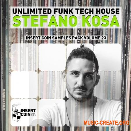 Insert Coin Unlimited Funk Tech House - Stefano Kosa (WAV) - сэмплы Tech House