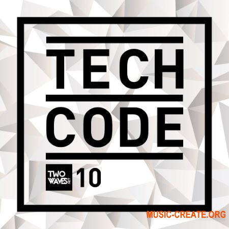Two Waves TECH CODE (WAV) - сэмплы Techno, Tech House