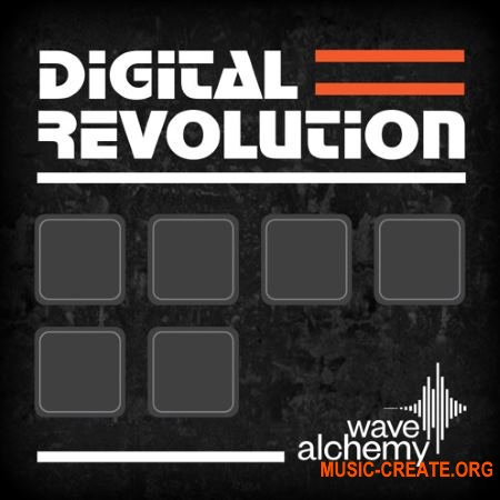 Wave Alchemy Digital Revolution (MULTiFORMAT) - сэмплы драм-машины