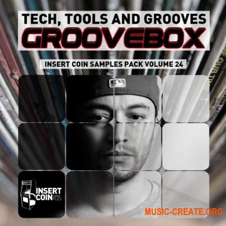 Insert Coin Tech Tools and Groove - GrooveBox (WAV) - сэмплы House, Tech House