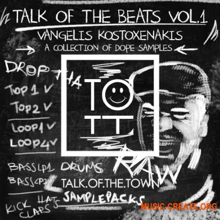 Talk Of The Town Talk Of The Beats Vol.1 (WAV) - сэмплы Tech House