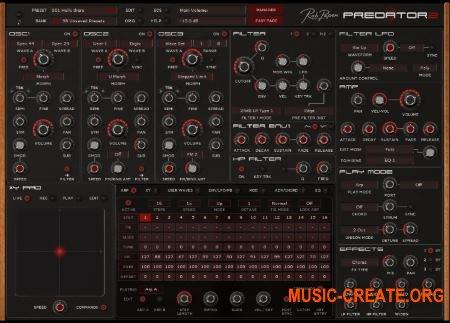 Rob Papen Predator 2 v1.0.0a (Team R2R) - гибридный синтезатор
