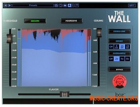 Boz Digital Labs The Wall v1.0.6 WiN / OSX (Team R2R) - плагин лимитер