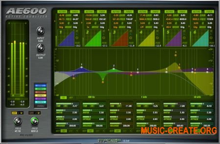 McDSP AE600 Active EQ v6.3.0.9 WIN (Team AudioUTOPiA) - плагин эквалайзер
