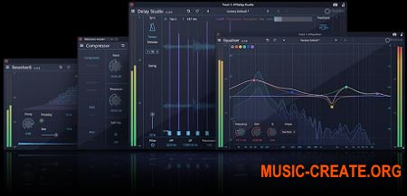 Tracktion Software DAW Essentials Collection v1.0.18 (Team R2R) - сборка плагинов эффектов