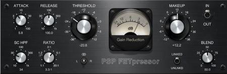 PSPaudioware PSP FETpressor v1.0.0 (Team R2R) - плагин компрессор