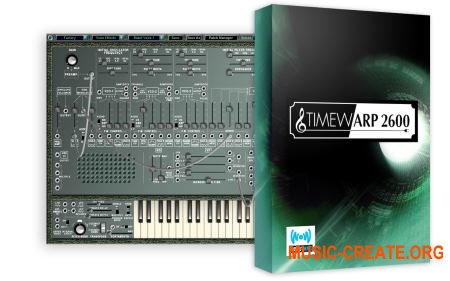 Way Out Ware TimewARP 2600 v1.6 WiN / OSX (Team R2R) - виртуальный ARP 2600 синтезатор