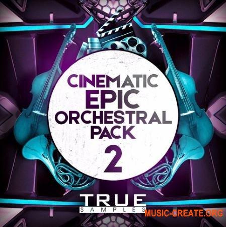True Samples Cinematic Orchestral Pack 2 (WAV MiDi) - сэмплы оркестровых инструментов