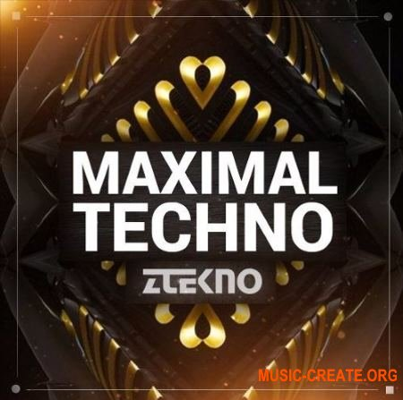 ZTEKNO Maximal TECHNO (WAV MiDi AiFF APPLE LOOPS SYLENTH1 MASSiVE) - сэмплы Techno