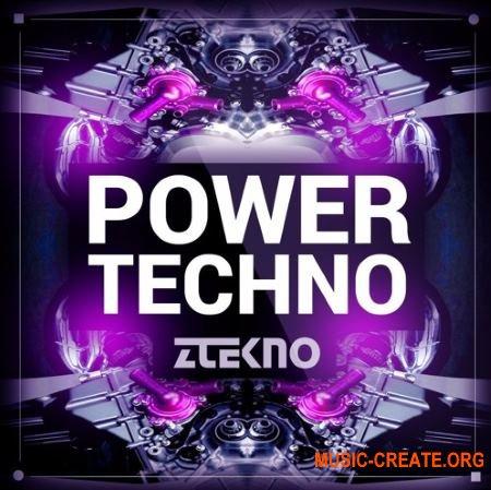 ZTEKNO Power TECHNO (WAV MiDi AiFF APPLE LOOPS SYLENTH1 MASSiVE) - сэмплы Techno, Tech House
