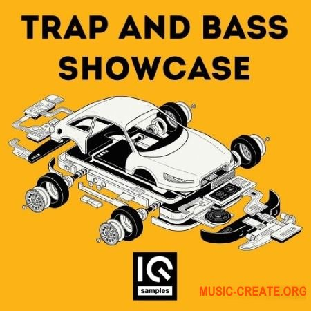 IQ Samples Trap And Bass Showcase (WAV) - сэмплы Trap, Bass House