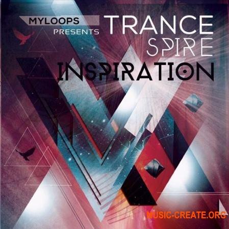 Myloops Trance Spire Inspiration A full soundbank + 11 Bonus Construction Kits (WAV SPiRE Presets) - сэмплы Trance
