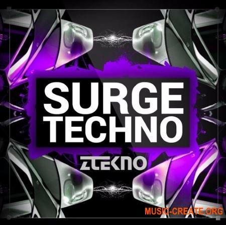 ZTEKNO Surge TECHNO (WAV MiDi AiFF APPLE LOOPS Sylenth1 Massive Synthmaster presets) - сэмплы Techno