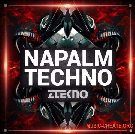 ZTEKNO Napalm TECHNO (WAV MiDi AiFF APPLE LOOPS Sylenth1 Massive Synthmaster presets) - сэмплы Techno