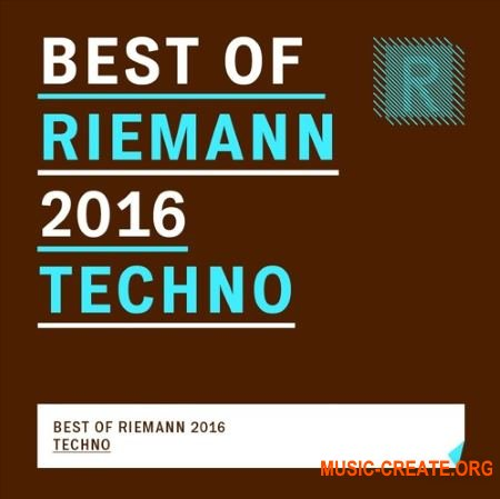 Riemann Kollektion Best of Riemann 2016 Techno (WAV) - сэмплы Techno
