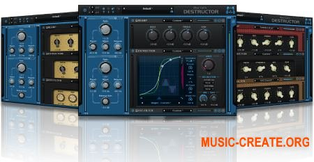 Blue Cat Audio Blue Cat's Destructor v1.11 CE (Team V.R) - плагин дисторшн