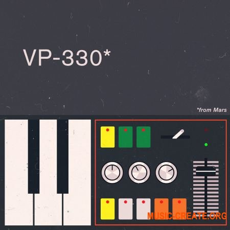 Samples From Mars VP-330 From Mars (MULTiFORMAT) - сэмплы виртуального вокодера Roland VP-330