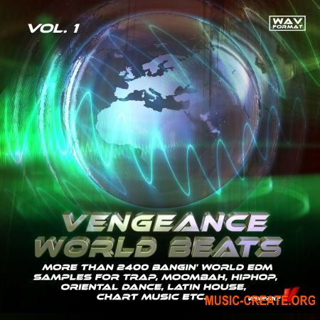 reFX Vengeance Samplepack: World Beats Vol.1 (WAV) - сэмплы EDM