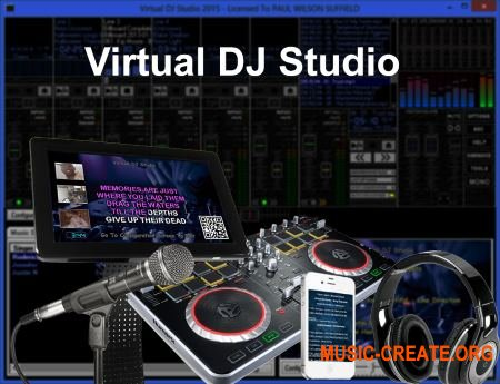 Virtual DJ Studio 7.6.1 (Team P2P) - инструмент dj
