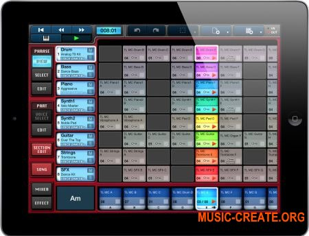Yamaha Mobile Music Sequencer v3.3.3 iOS (iPhone, iPod touch, iPad)