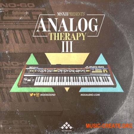 MSXII Sound Analog Therapy 3 (WAV) - сэмплы аналоговых синтезаторов