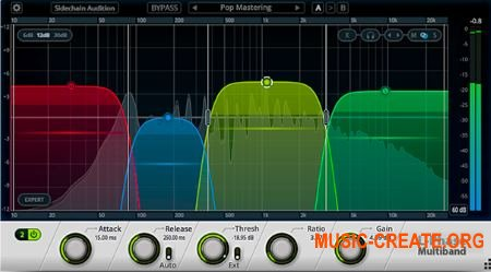 Cakewalk L-Phase Multiband Compressor WiN v1.0.3.84 OSX v1.0.3.101 (Team R2R) - плагин компрессор