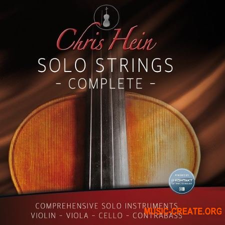 Best Service Chris Hein Solo Strings Complete (KONTAKT) - библиотека струнных инструментов