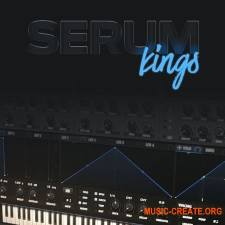 Diginoiz Serum Kings (XFER RECORDS SERUM Presets)