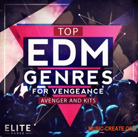 Mainroom Warehouse Top EDM Genres (WAV MiDi Avenger presets) - сэмплы EDM, Drum