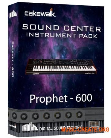 Digital Sound Factory Prophet-600 (KONTAKT) - звуки синтезатора Prophet 600