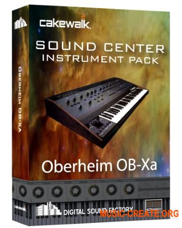 Digital Sound Factory Oberheim OB-Xa (KONTAKT) - звуки синтезатора Oberheim OB-Xa