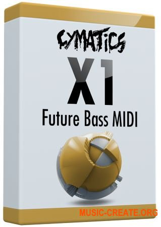 Cymatics X1 Future Bass MIDI (MIDI)
