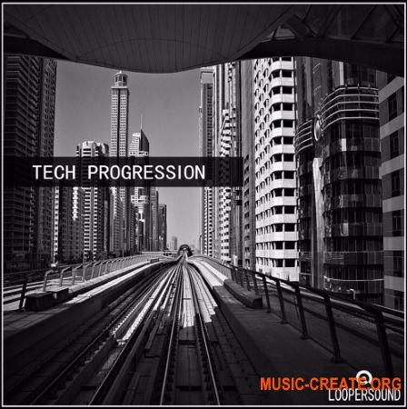 Loopersound Tech Progression (WAV) - сэмплы Techno, Electronic