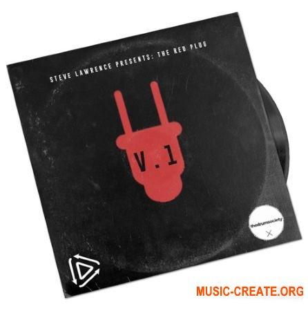 Steve Lawrence The Red Plug Drumkit (WAV) - драм сэмплы
