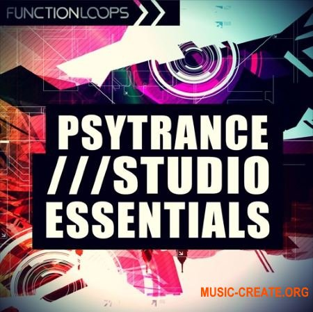 Function Loops Psytrance Studio Essentials (WAV MiDi MASSiVE SPiRE SERUM SYLENTH1) - сэмплы Psytrance