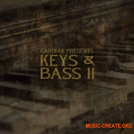 Cardiak Bass and Keys 2 (WAV MP3) - лупы фортепиано