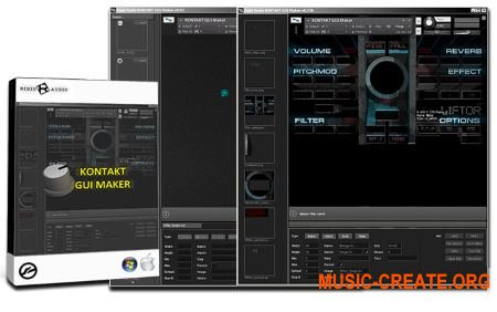 Rigid Audio KONTAKT GUI Maker v1.0 WiN OSX RETAiL (Team SYNTHiC4TE)