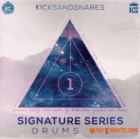 Kicks and Snares Signature Series (WAV) - сэмплы ударных