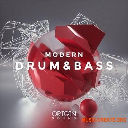Origin Sound Modern Drum and Bass (WAV MiDi SERUM) - сэмплы Drum and Bass