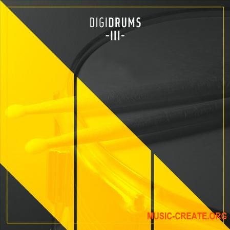 Diginoiz DigiDrums 3 (WAV) - сэмплы ударных
